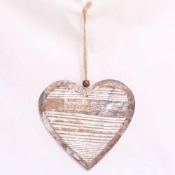 Závěsné dřevěné srdce typ 531-1
