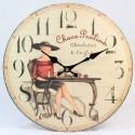 Nástěnné hodiny Choco Praline 17 cm