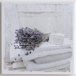 Obraz na plátně Svazek Levandulí 28 cm