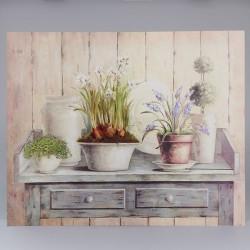 Obraz na plátně Narcisy 56 cm