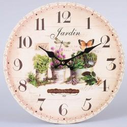 Nástěné hodiny Jardin 34 cm
