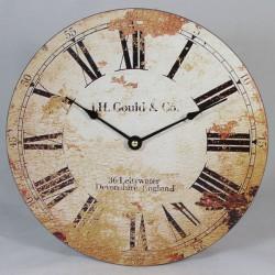Nástěnné hodiny J.H. Gould & Co. 30 cm
