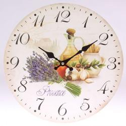 Nástěnné hodiny Zátiší Provence 34 cm