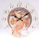 Nástěnné hodiny Alfons Mucha - Tanec 34 cm