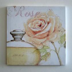 Obraz Růže a flakon