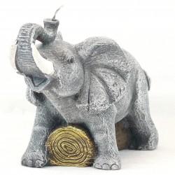 Svíčka Slon - velký, 15cm