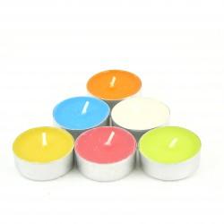 Čajové svíčky vonné Mix vůní, 6 ks