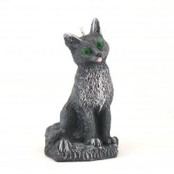 Svíčka Kočka černá, 14cm