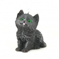 Svíčka Koťátko černé, 10cm