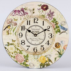 Nástěnné hodiny Home 30 cm