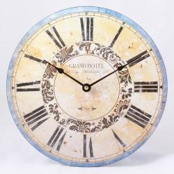 Nástěnné hodiny Grand Hotel Paris 30 cm