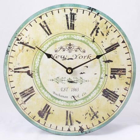 Nástěnné hodiny New York 30 cm