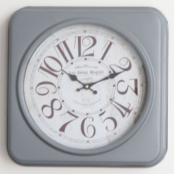 Kovové hodiny Les Deux Magots 35 cm