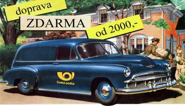 Doprava ZDARMA od 2000 Kč