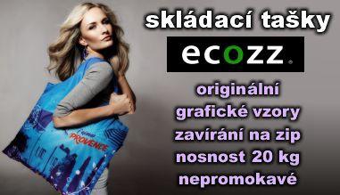 Skládací nákupní tašky ecozz